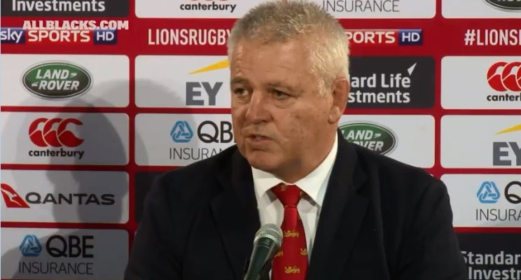 Managing your meanings in the media: a lesson from Lions manager Warren Gatland.